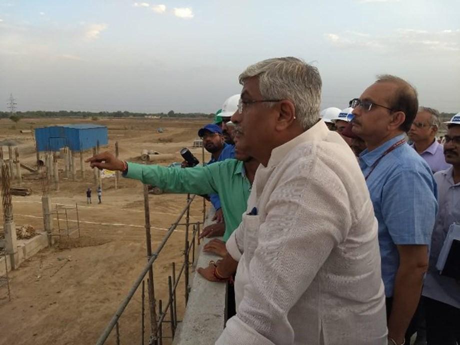Jal Shakti Minister reviews ongoing Namami Gange projects in Varanasi