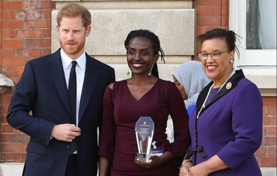 Duke of Sussex presents prizes to innovators at Commonwealth 70th anniversary