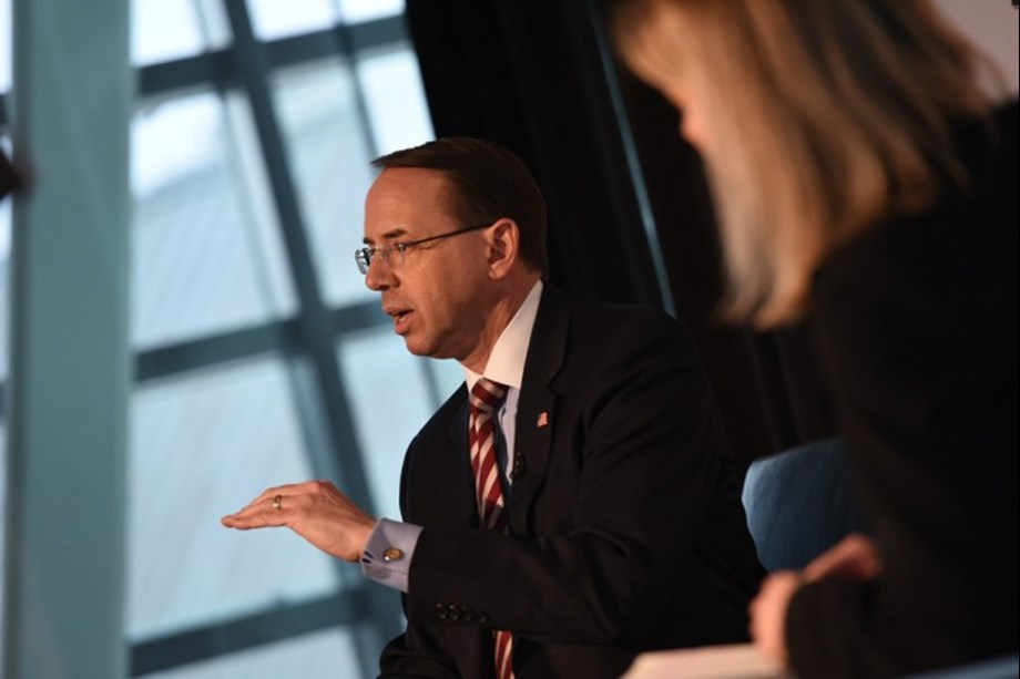 US Deputy AG Rod Rosenstein expected to step down by mid March - Official