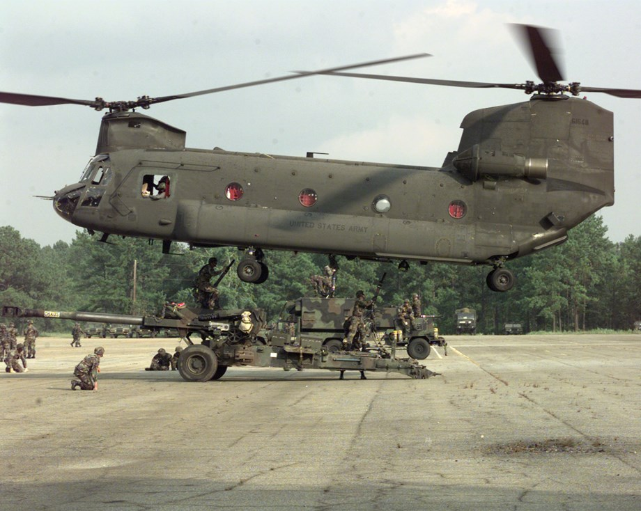 IAF set to welcome Chinook CH-47 helicopter from US