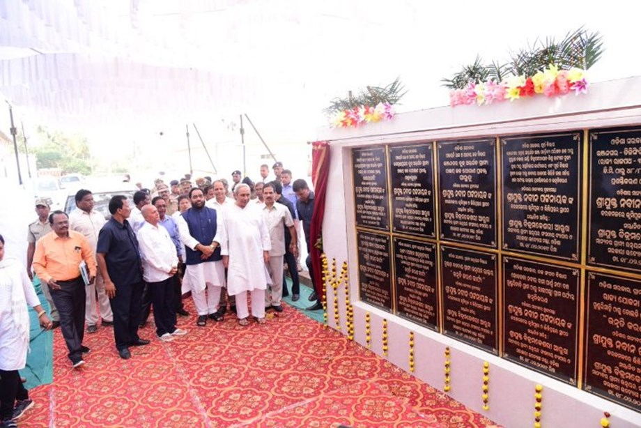 Odisha CM performs groundbreaking-cum-inauguration ceremonies for 18 projects