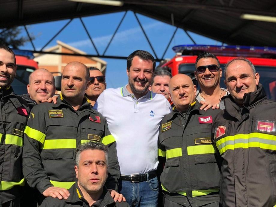 Italy's Salvini underscores urgent need of tax cuts as debt mounts