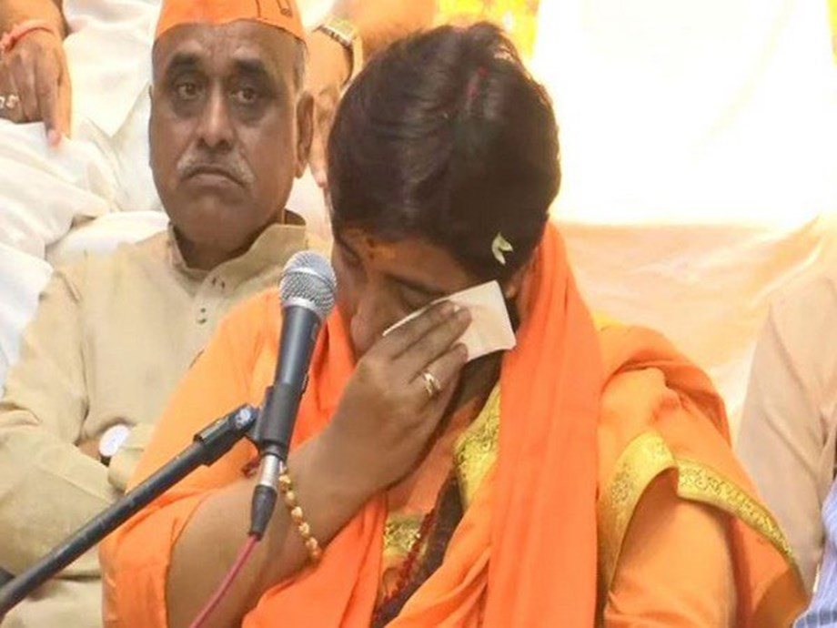 AAP demands apology from BJP on Pragya's 'Godse is patriot' statement