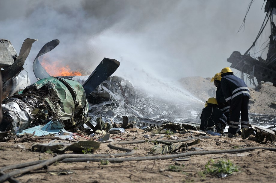 UPDATE 1-Two pilots killed in military trainer aircraft crash in Algeria