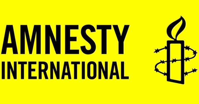 Amnesty International protest outside Indian mission in UK, over activists crackdown