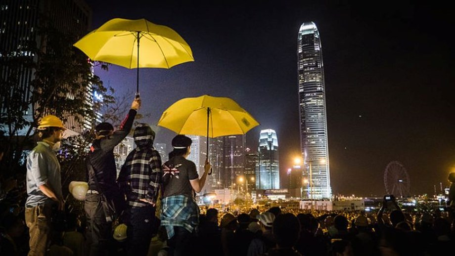 Hong Kong's democracy activists plead not guilty in 'Umbrella movement'