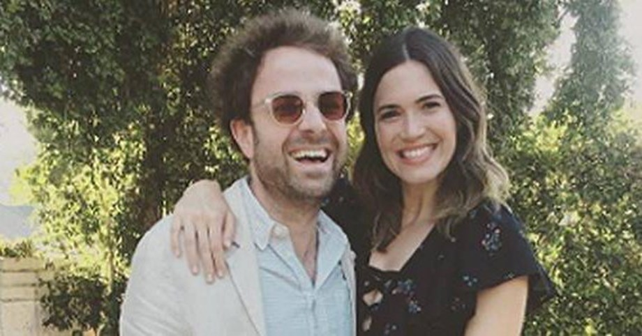 Mandy Moore and Taylor Goldsmith married in intimate boho-style backyard ceremony