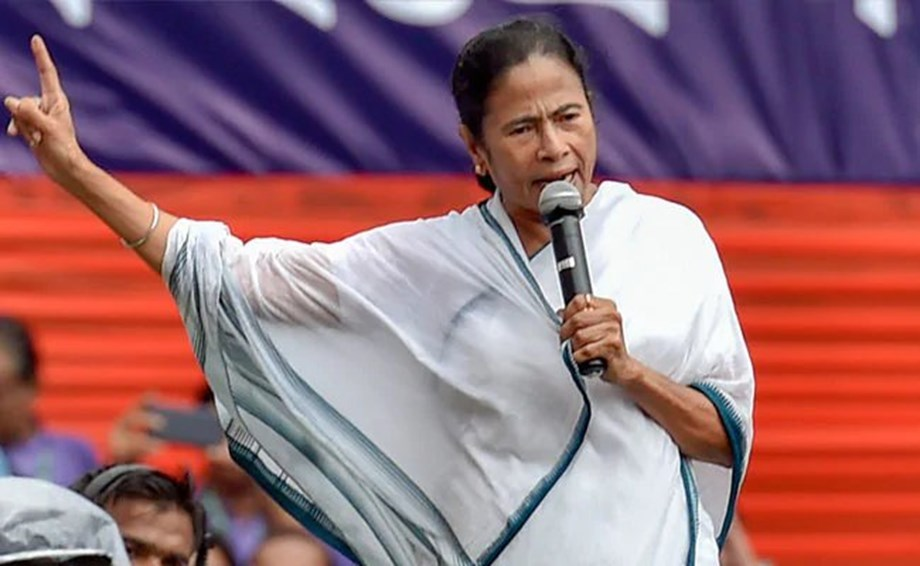 Mamata scathing attack at BJP on farmers' issues