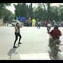 Video: MBA Student managing traffic in unique way goes viral