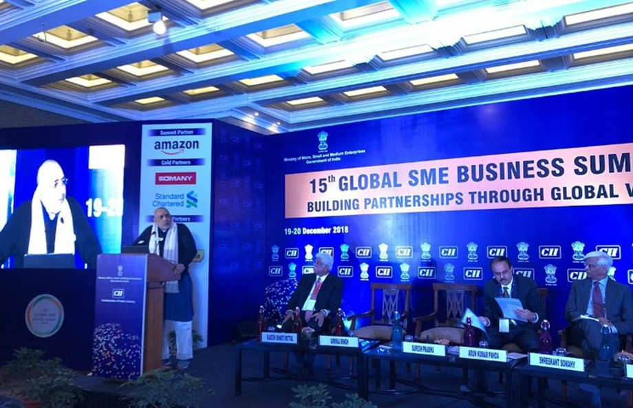 Indian MSMEs capable to compete with global companies: Giriraj Singh