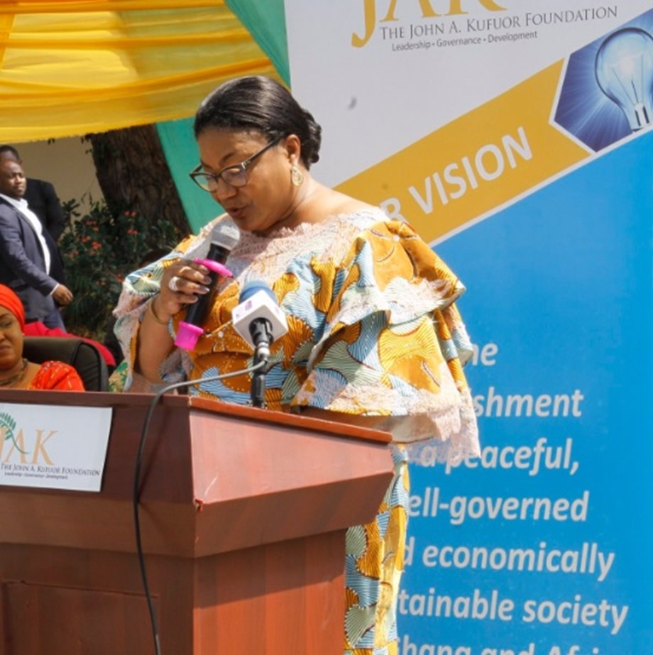 Ghana's First Lady Rebecca Akufo-Addo inaugurated as Nutrition Champion