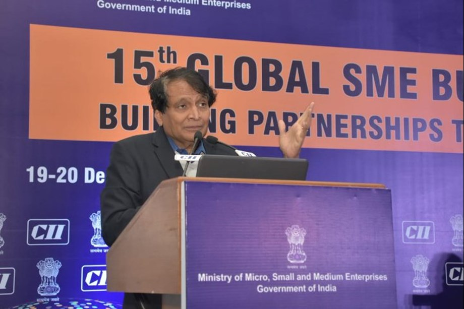 Commerce Ministry sets up to promote exports of SMEs from India: Suresh Prabhu