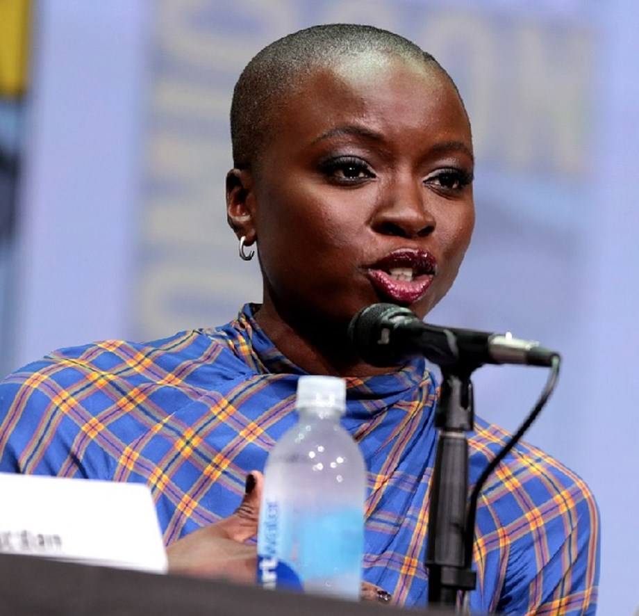 The Walking Dead actress Danai Gurira promotes anti-poaching campaign in Zimbabwe