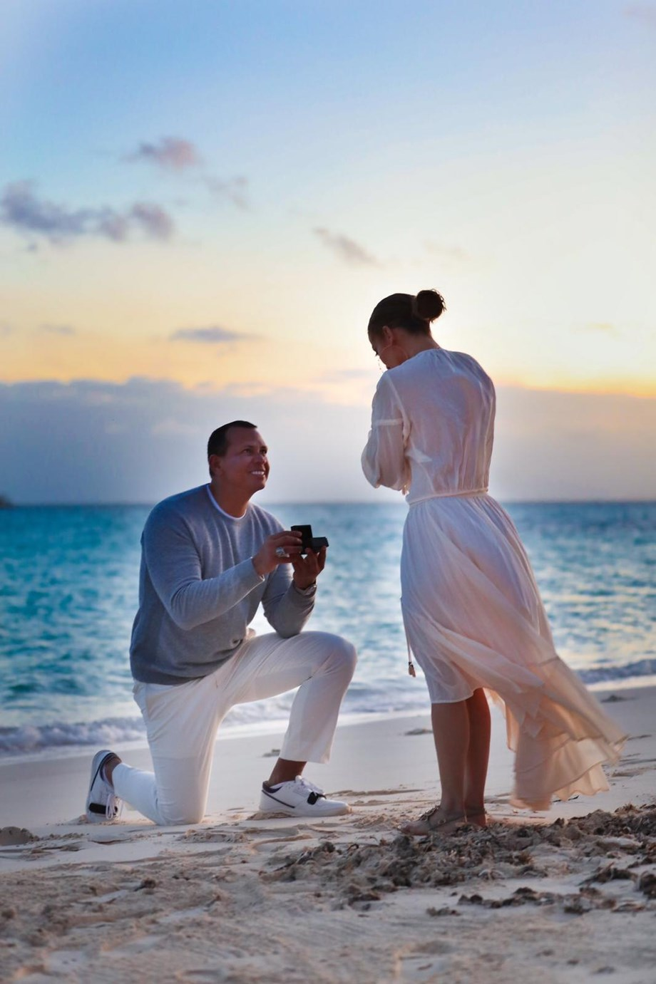 Alex Rodriguez rehearsed for three days before finally proposing Lopez