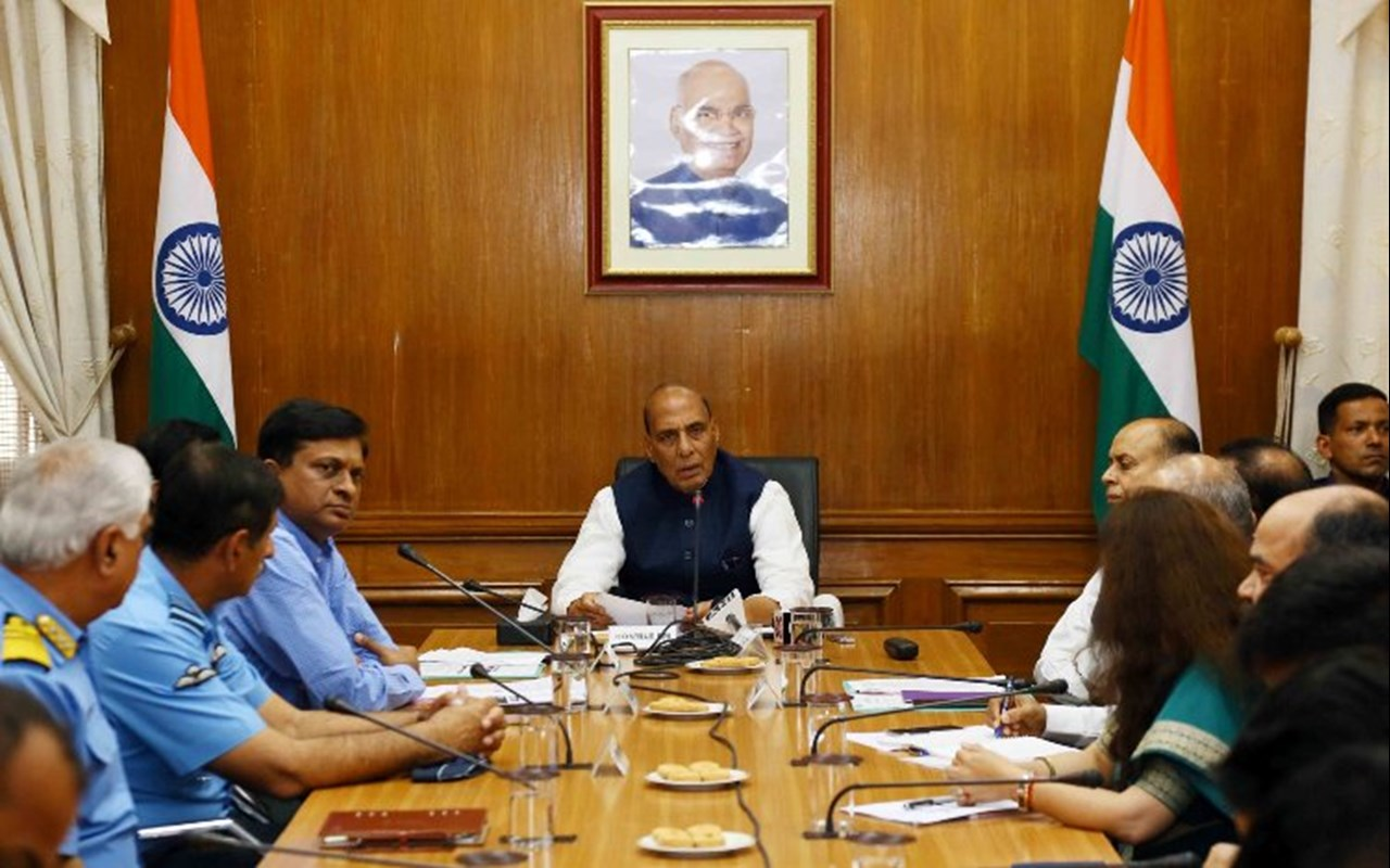 Image result for Defence Minister launches draft of Defence Procurement Procedure, 2020