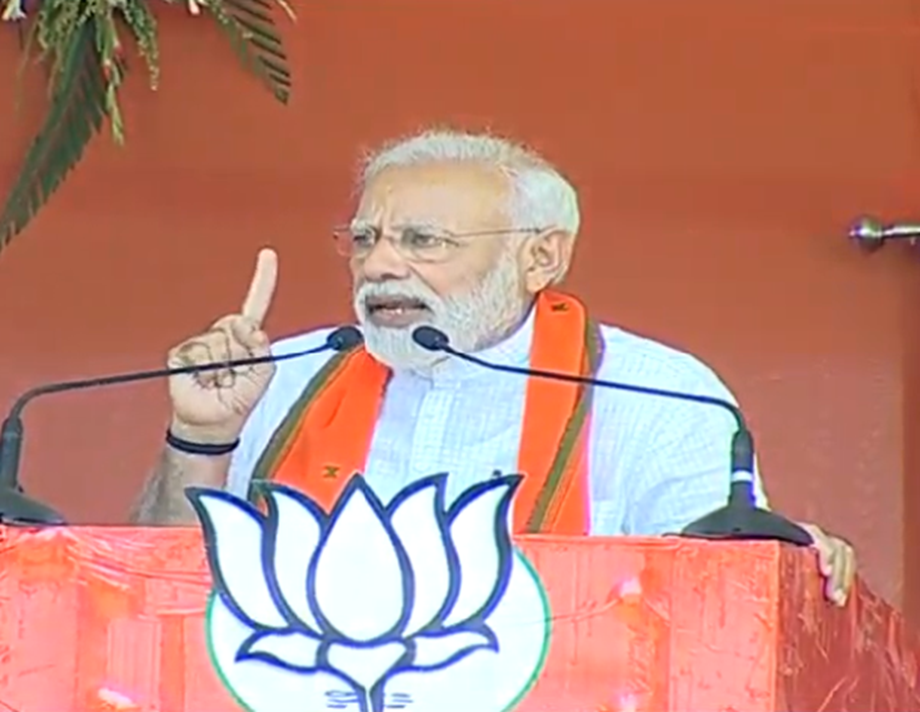 Till Modi, BJP are there nobody can touch land of those living in forests: PM
