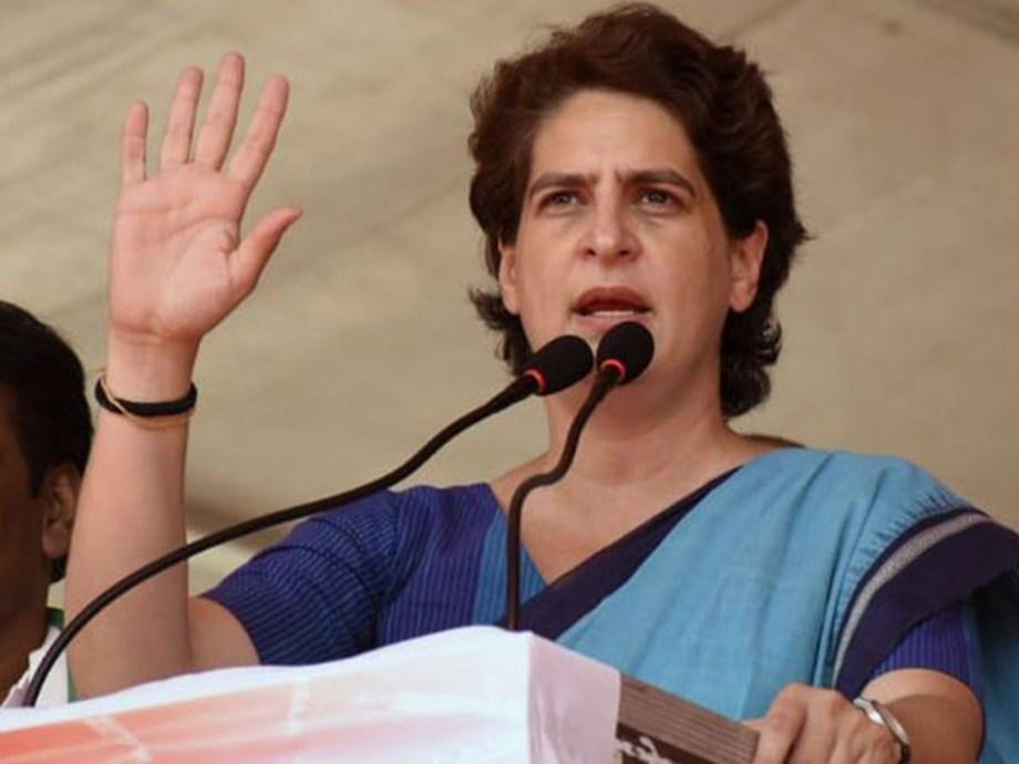 Any chances of action against some BJP leaders thrashing govt employees, asks Priyanka
