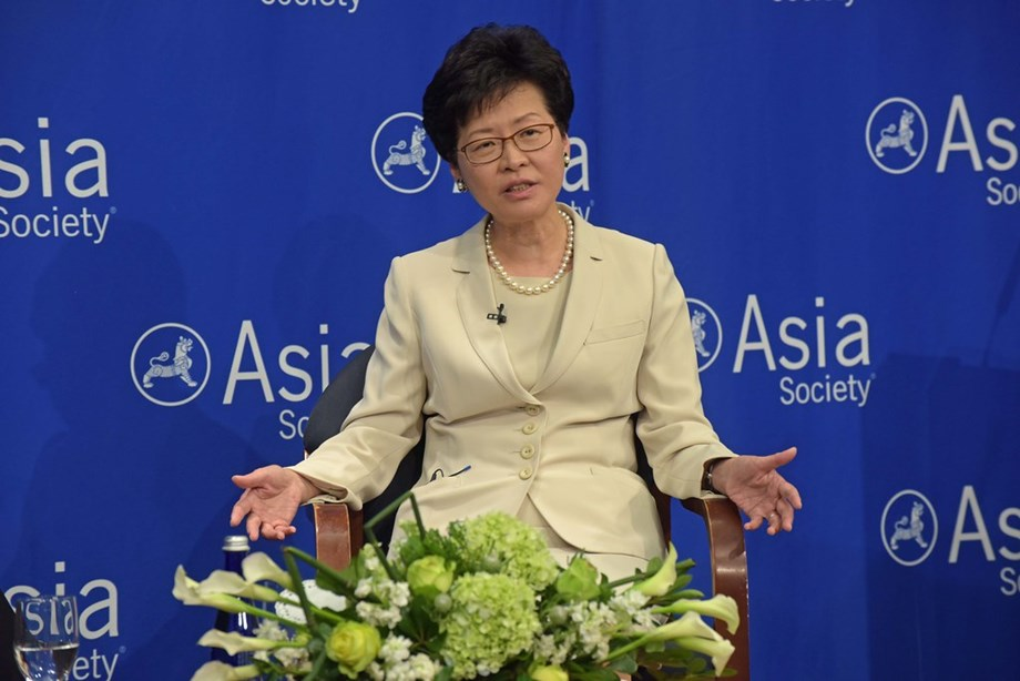 DAVOS-Hong Kong's Lam says city vigilant over coronavirus