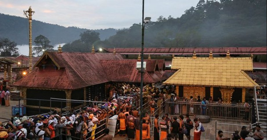 Over 60 pilgrims arrested from Sabarimala for violating law and order