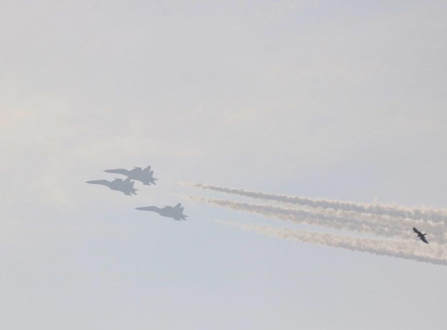 3 Rafale jets land in Yelahanka Air Force Station for Bengaluru Aero show
