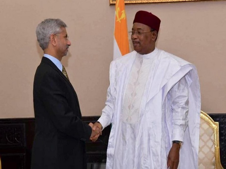 Jaishankar inaugurates first convention centre in Niger made by India in Africa to honour Gandhi