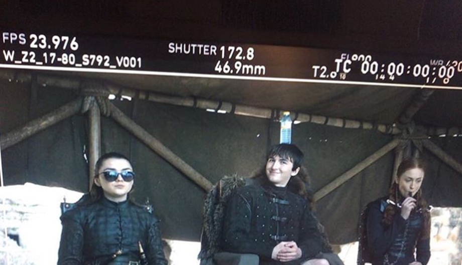 Sophie Turner's funny Instagram post with Arya and Bran amuses Game of Thrones fans
