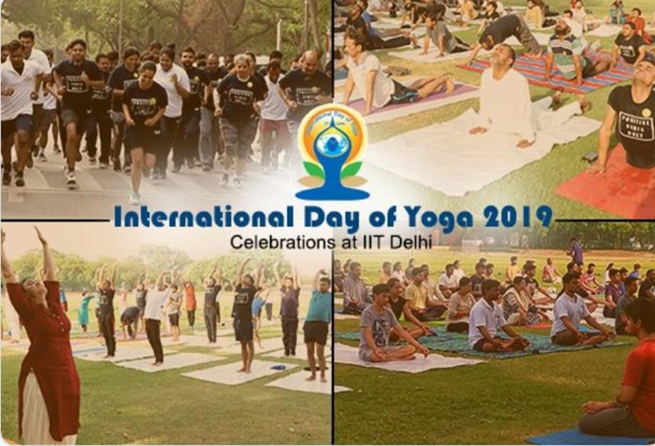 IITD organised 'Yoga Sports' competitions on Yoga Day