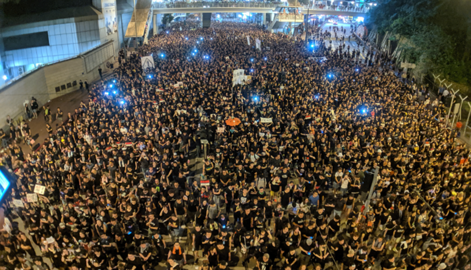 UPDATE 1-Chinese state media says 'Western ideologues' to blame for Hong Kong unrest