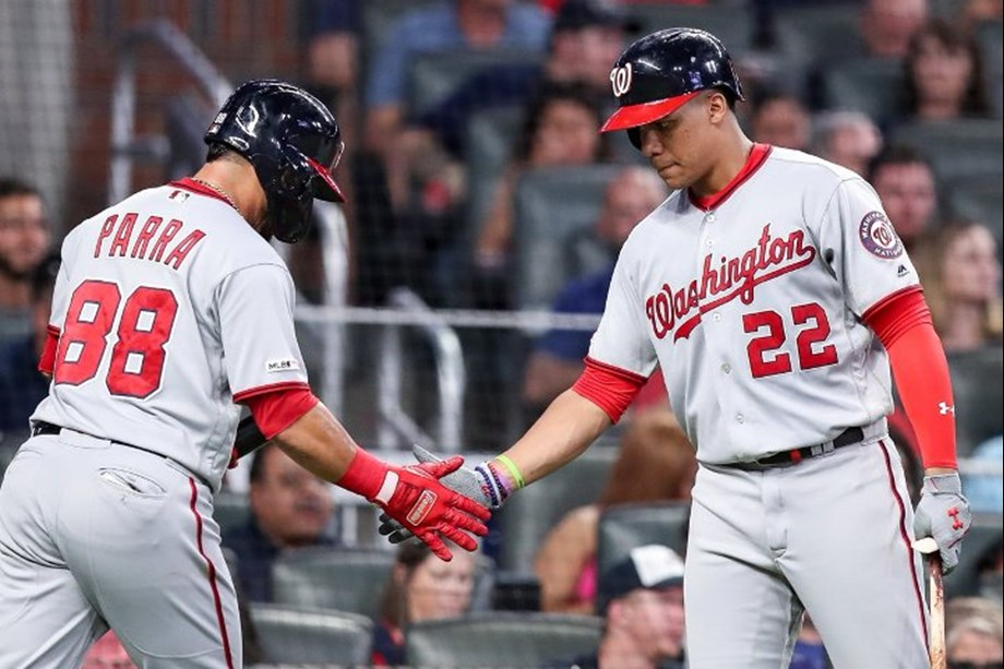 Nationals sweep Marlins behind Corbin, four homers