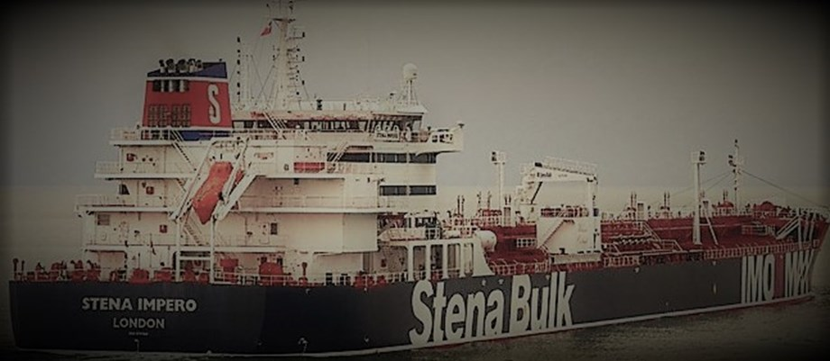 UPDATE 1-Iran may release British-flagged tanker within hours, Swedish owner says
