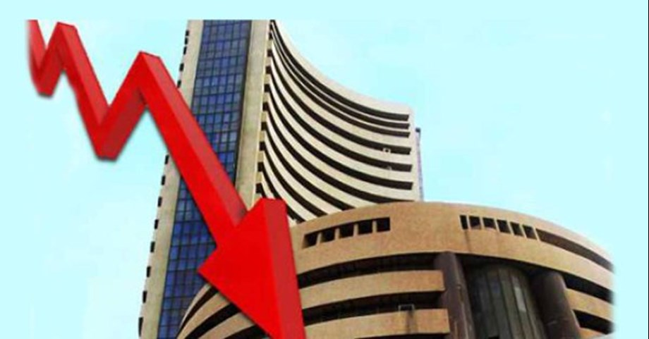Sensex drops by 180 points in pre-opening, Nifty around 10,700