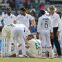 Cricket-South Africa's Elgar suffers concussion after being struck on head