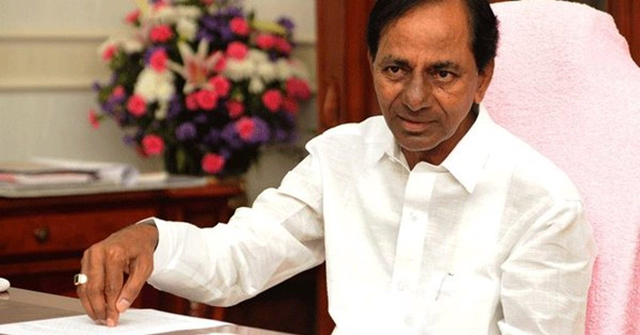 As Telangana votes, KCR confident of coming back to power