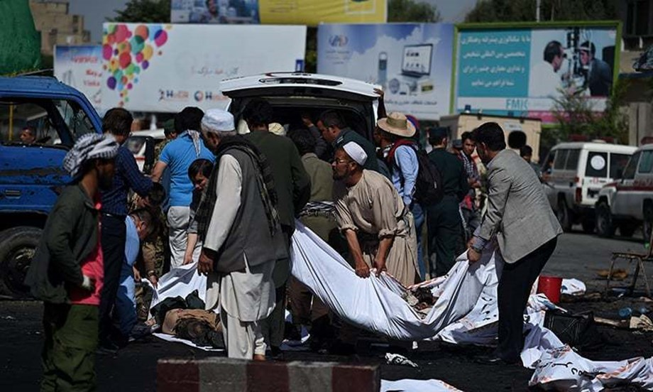 Afghanistan blast: Victims recall massive explosion as death toll reaches 55