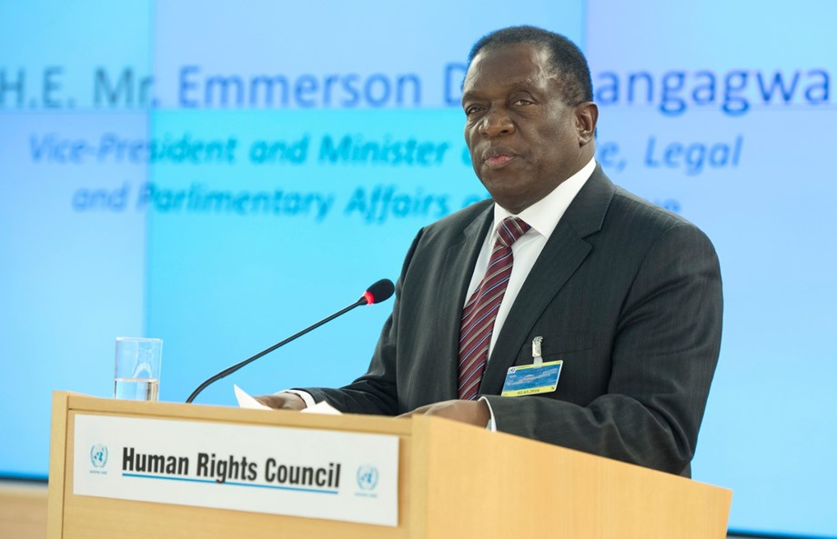 Mnangagwa lays foundation stone for huge new parliament building outside Harare