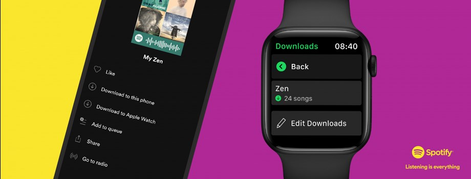 Spotify on Apple Watch now lets you download favorite music for offline use   Technology