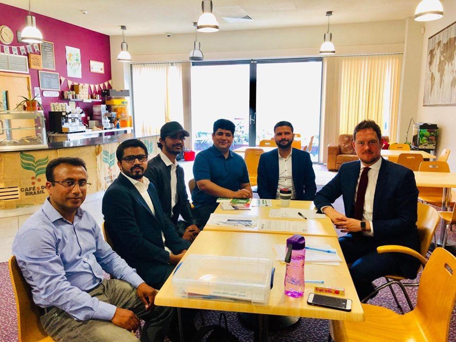 BNM delegation meets UK lawmaker, raises concern over human rights situation in Balochistan