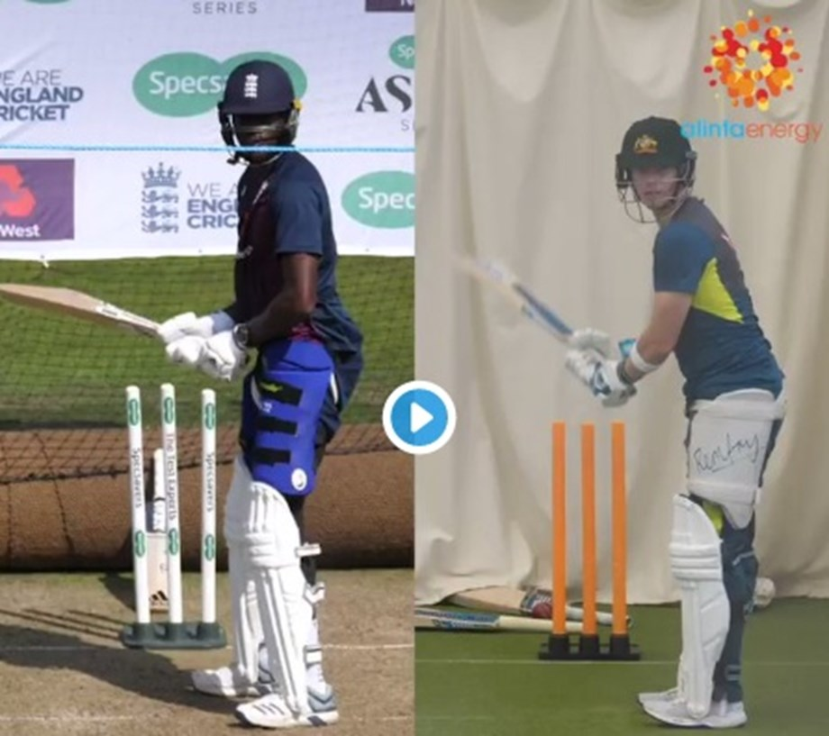 Watch: After injuring Steve Smith, Jofra Archer copies his batting style