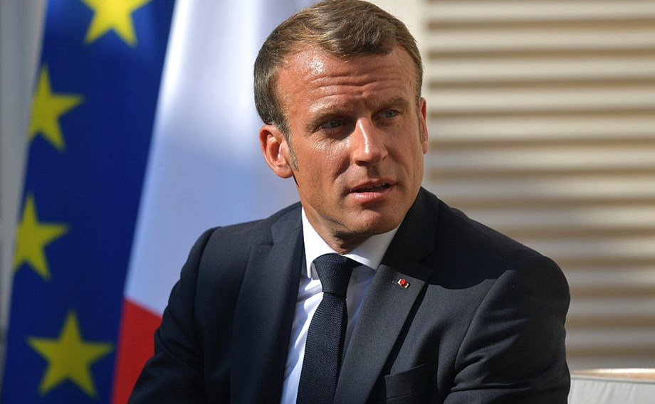 UPDATE 1-Macron opens door to North Macedonia, Albania EU accession talks