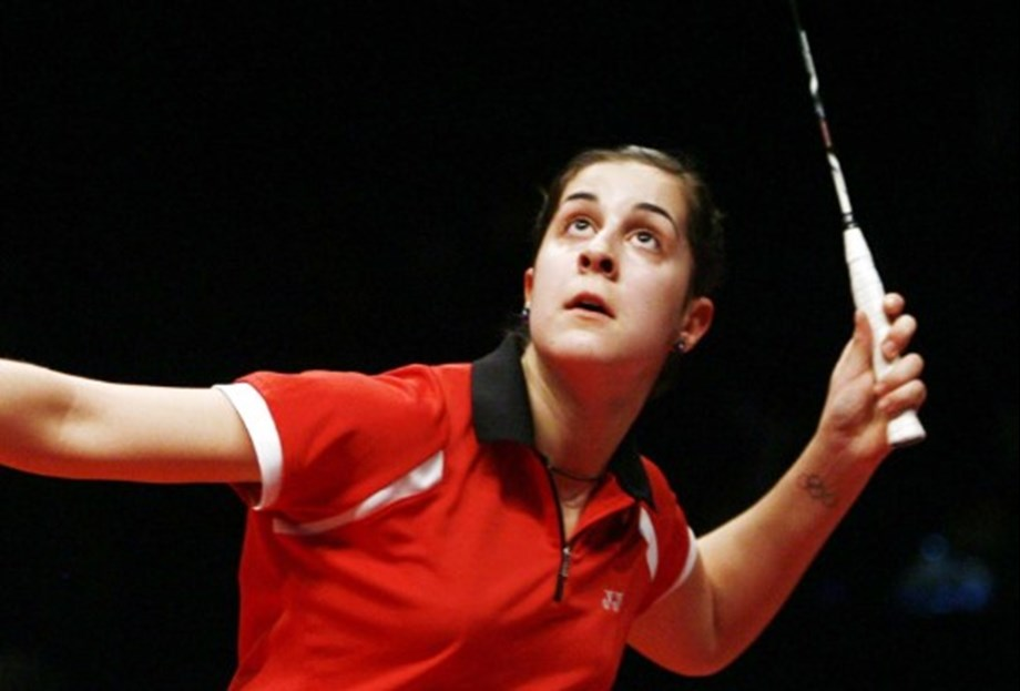Badminton-Olympic champion Marin completes comeback with China title