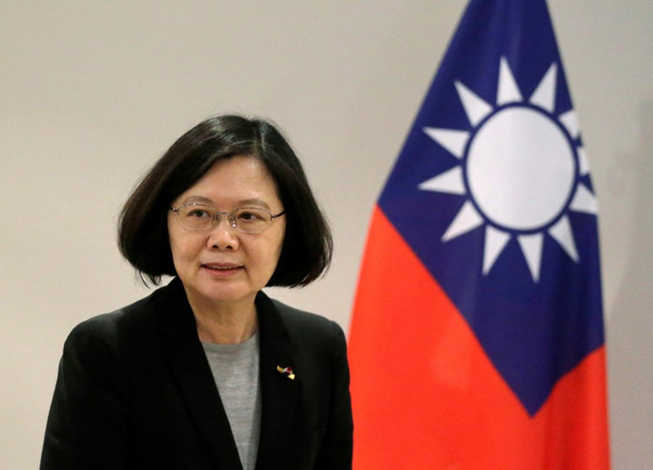 Taiwan prez expresses support for pro-Taiwan independence director