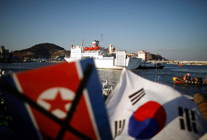 No-fly zone, ban on military drills near Korean border comes into effect