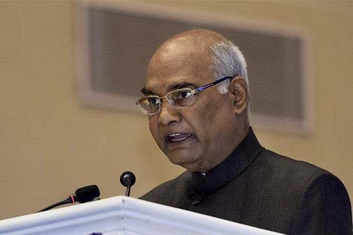 Ram Nath Kovind says role of top government officials is of 'ethical leaders'
