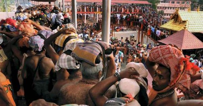 Sabarimala temple under total police control ahead of its opening on Nov. 5