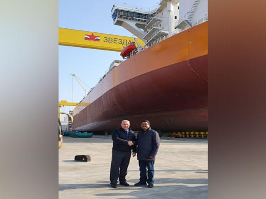 Russia: Pradhan visits Zvezda Shipbuilding Complex in Vladivostok