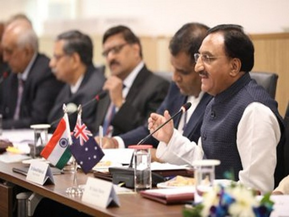 HRD minister attends 5th Australia-India Education Council meet