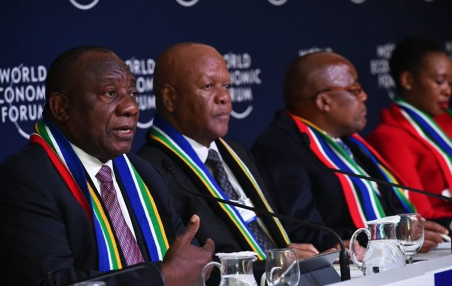 South Africa making headway of renewal and growth: President at WEF