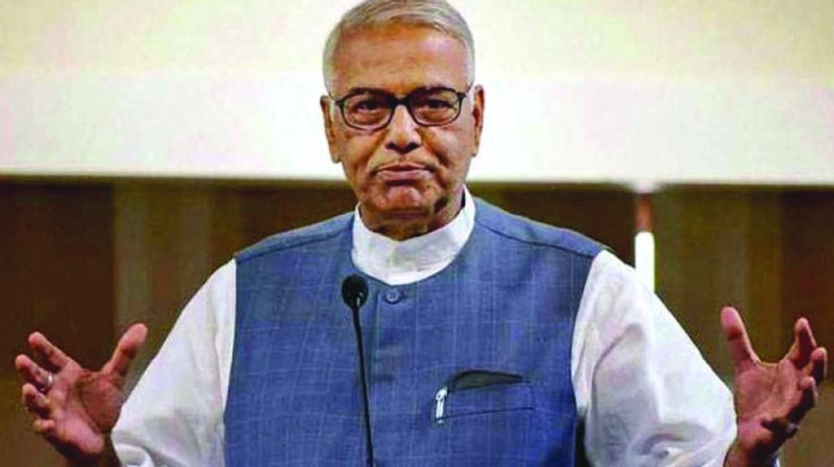 Yashwant Sinha urges farmers not to 'forgive' Modi in 2019 Lok Sabha polls