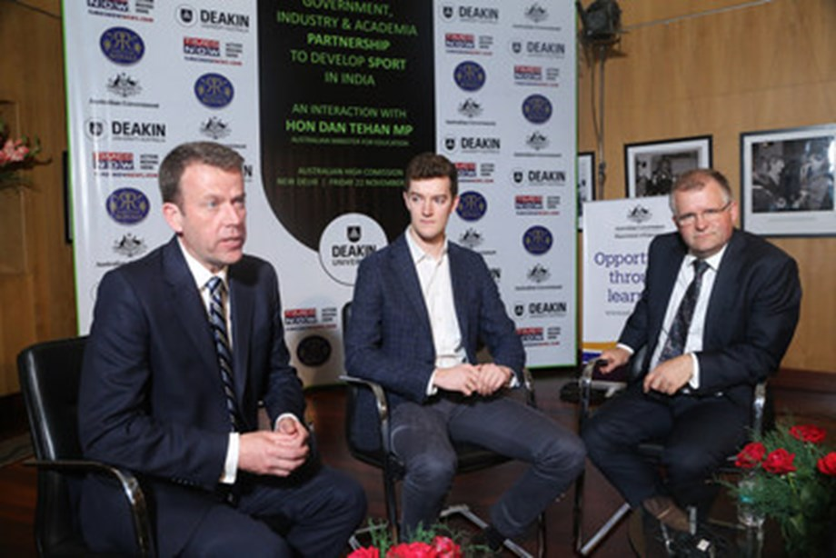 Government, Industry and Academic Partnership to Develop Sport in India