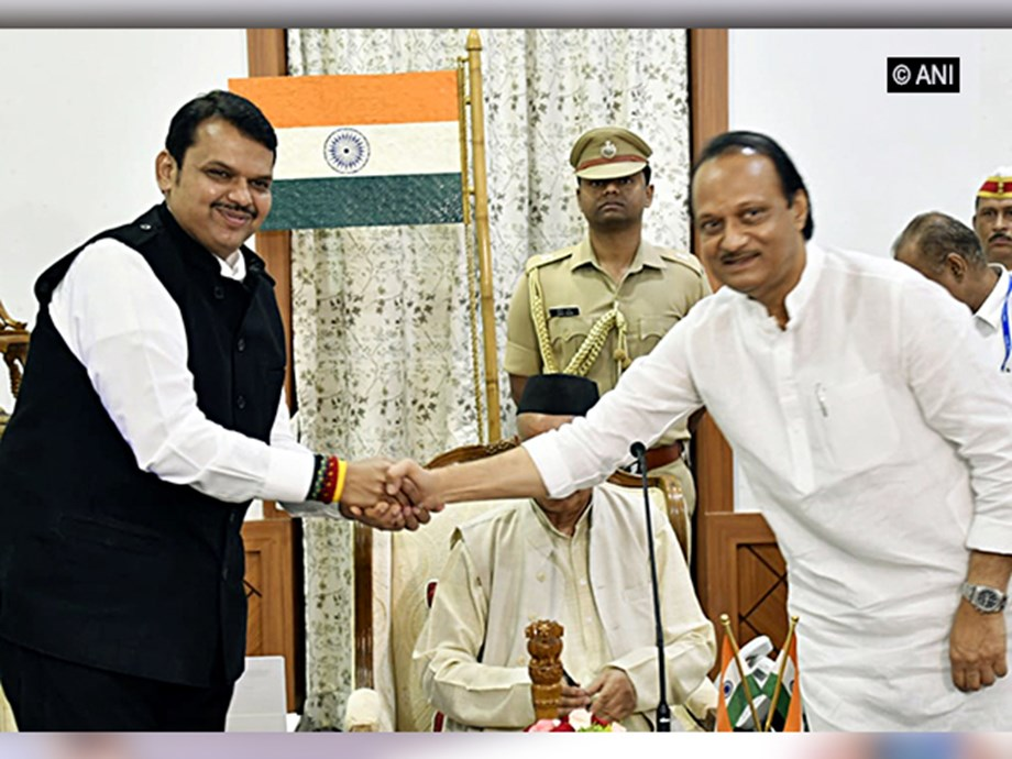 BJP joins hands with Ajit Pawar to form government in Maharashtra; Congress, NCP, Shiv Sena move Supreme Court